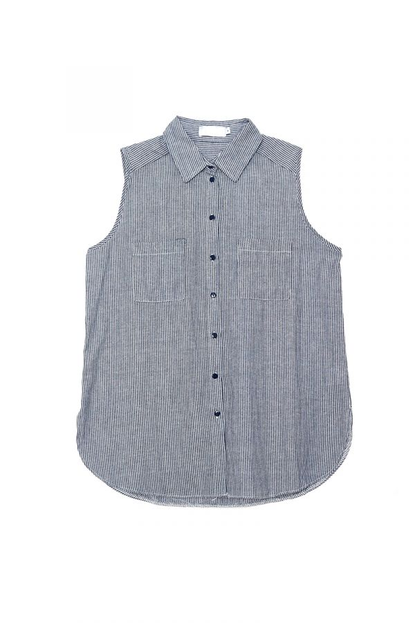 EAVIS SLEEVELESS SHIRT