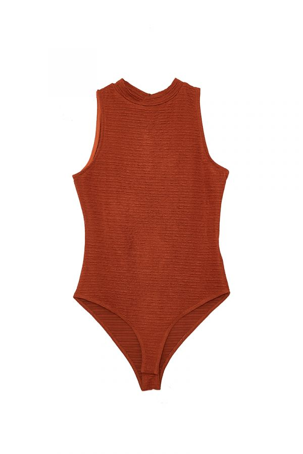 TERRA HIGH NECK BODYSUIT