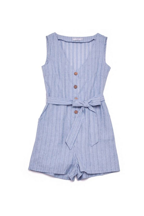 CASSIE BUTTON FRONT PLAYSUIT
