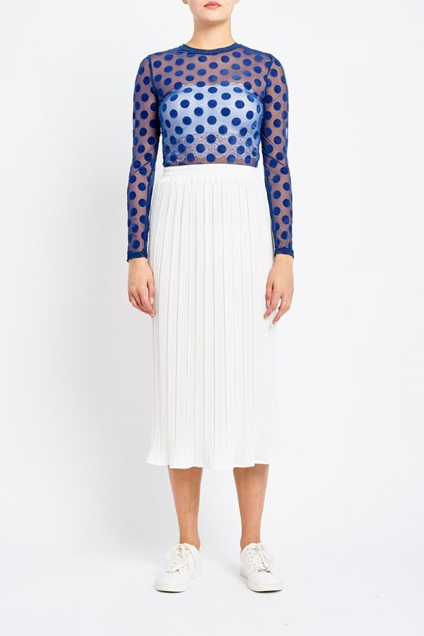 SPOTTED MESH TOP (INNER NOT INCLUDED)