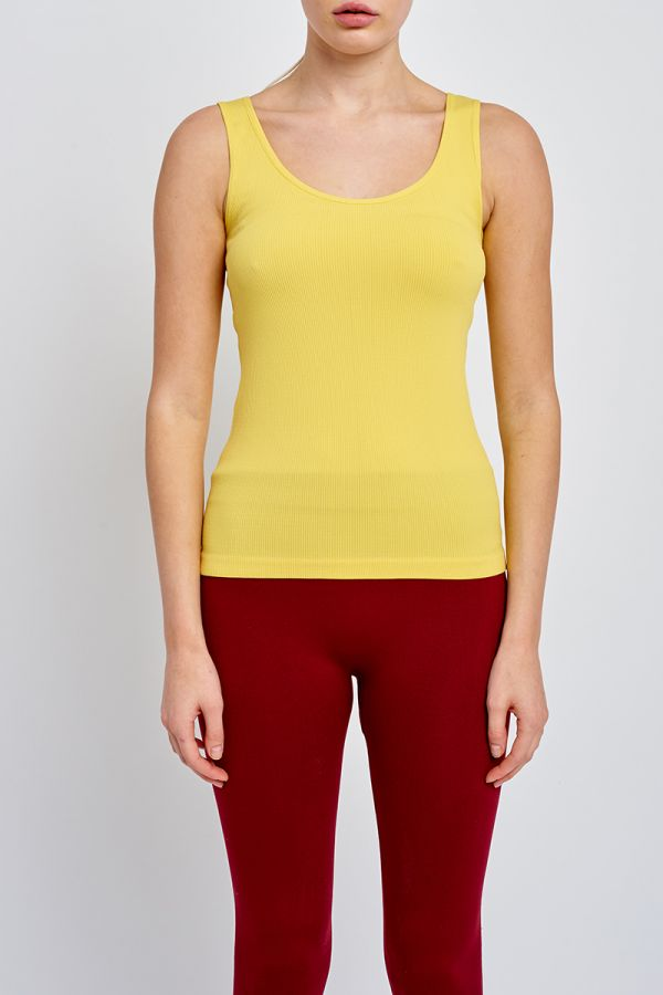 VALLEY RIBBED TANK TOP