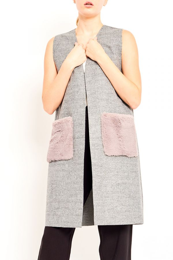 GIZELLA OPEN WAIST COAT