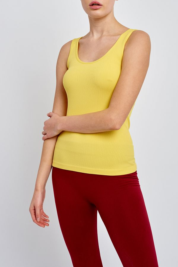 VALLEY RIBBED TANK TOP (319284)