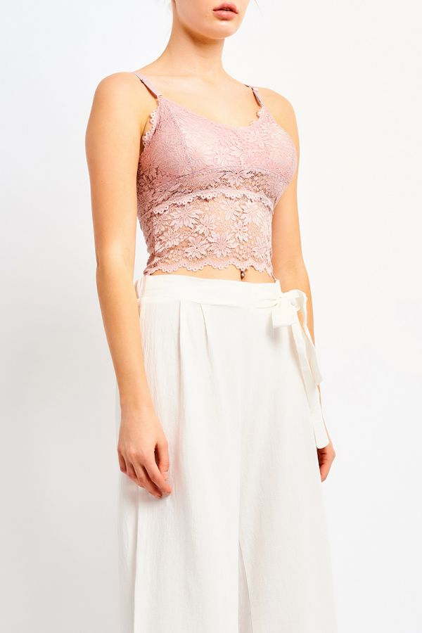 JOLIE LACE CROP TOP