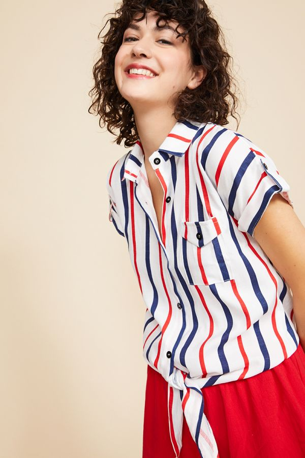 AUDREY SHIRT TOP