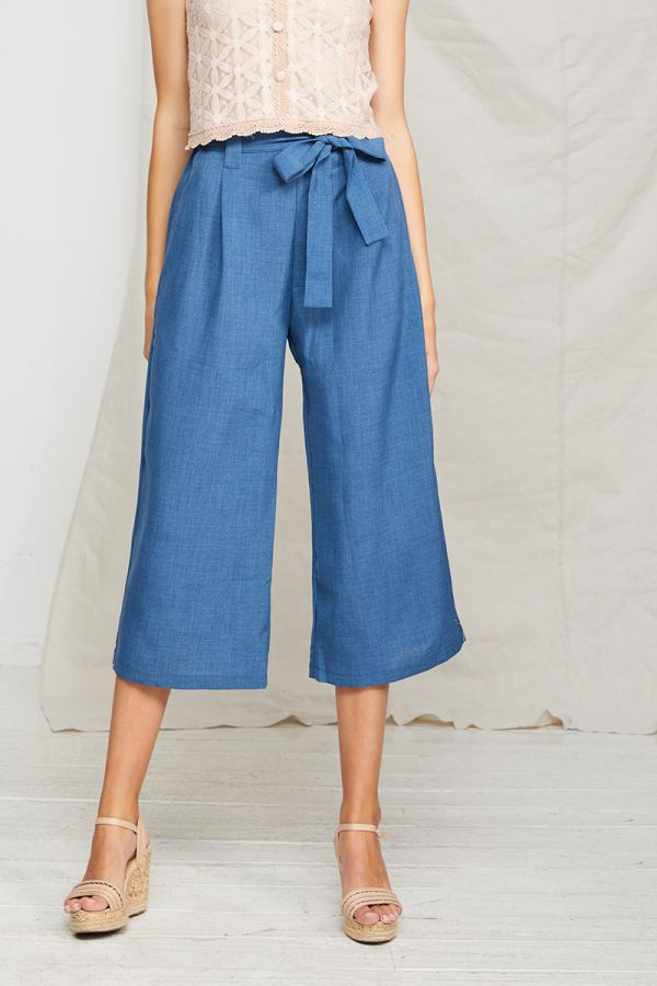 ATHEA WIDE LEG PANTS (322131)
