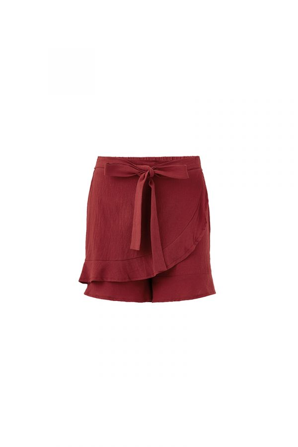 GUDRUN WRAP SKIRT (322138)