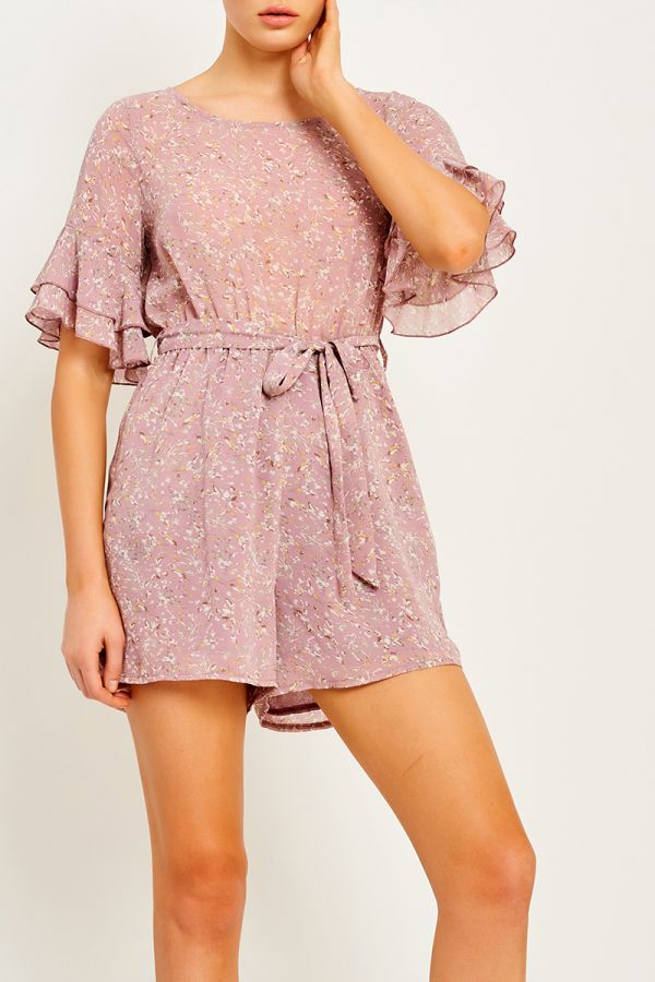 MARIANA TIE FRONT PLAYSUIT (322454)