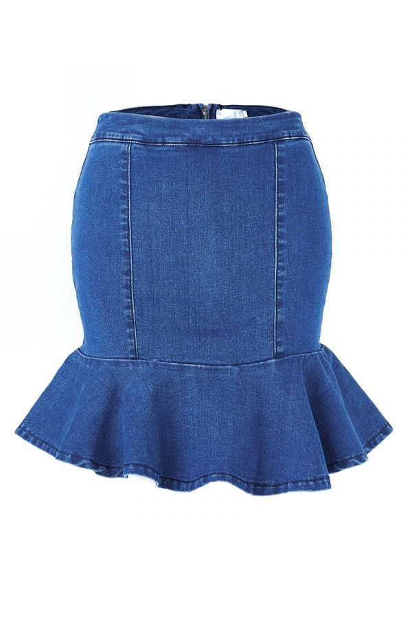 HELKI DENIM SKIRT (322500)
