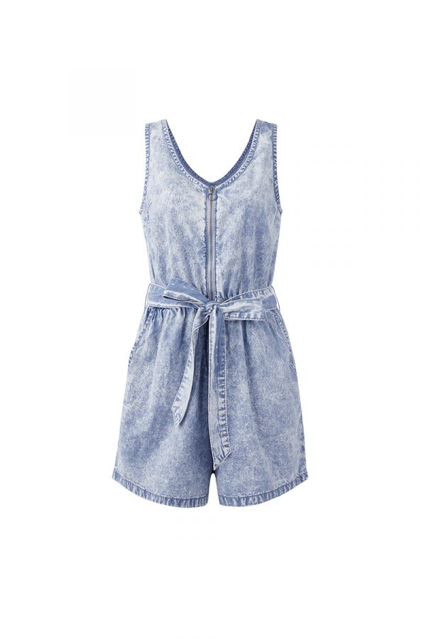 JESSY DENIM PLAYSUIT