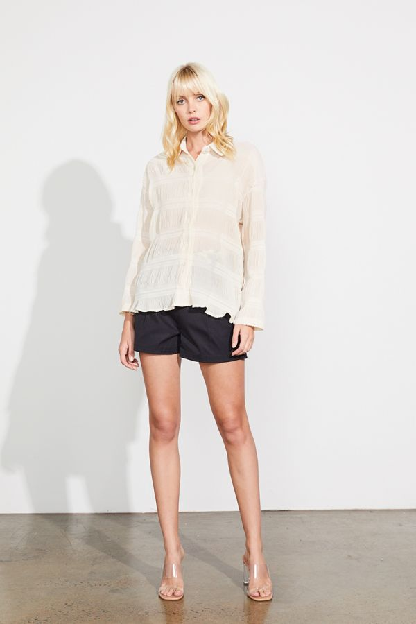 RIPPLE BLOUSE SHIRT
