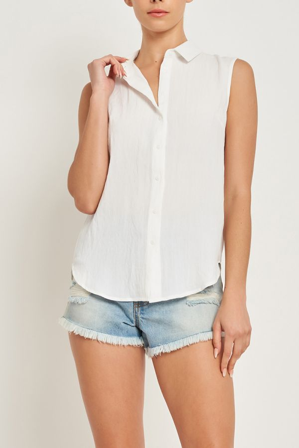 SOPHIA SLEEVLESS BLOUSE