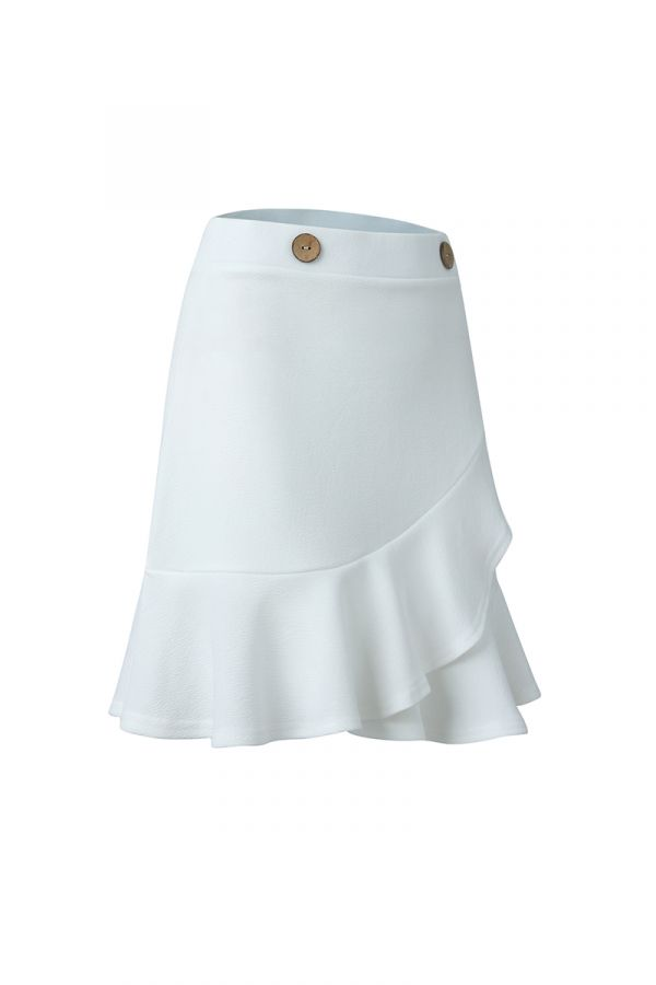 HONEY RUFFLE MINI SKIRT (323463)