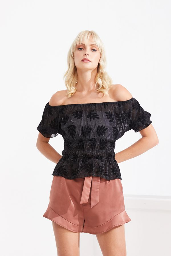 RAQUEL OFF SHOULDER TOP