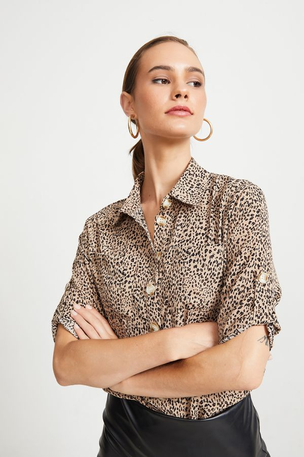 OTTO BUTTON SHIRT (323723)