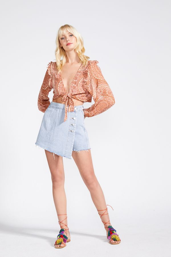 RAMI DENIM SKIRT