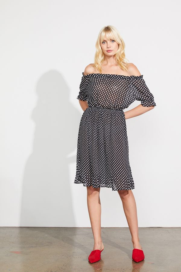 VERONICA OFF SHOULDER DRESS