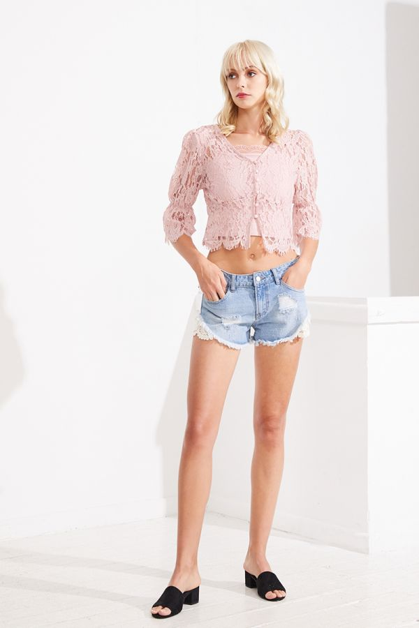 MARIA BRODERIE TOP