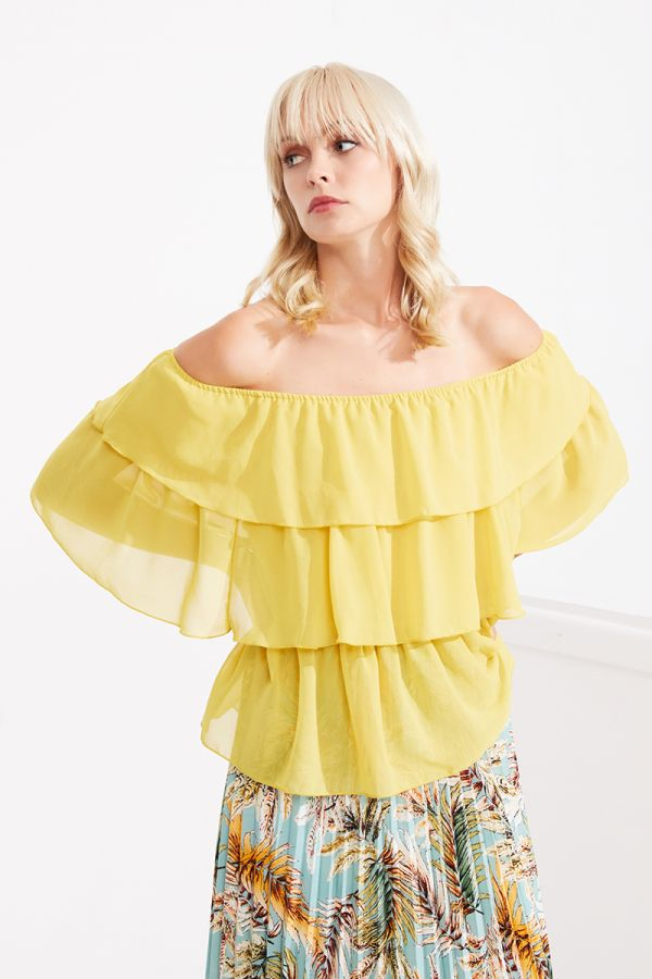 HANNAH OFF SHOULDER BLOUSE