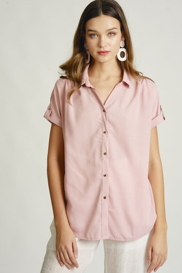 ROLL UP SHORT SLEEVE SHIRTS (323938)