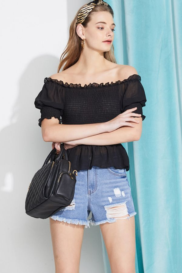 SOLANGE OFF SHOULDER  (323956)