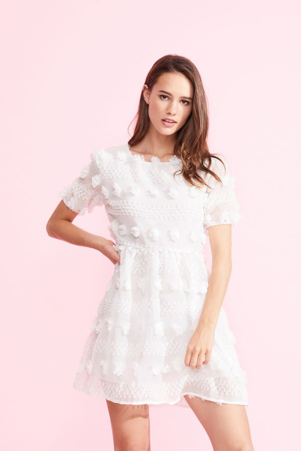 SAMMI BRODERIE DRESS (323989)