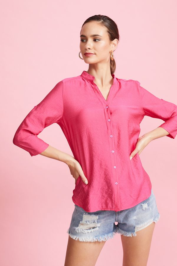 RIM ROLL SLEEVE SHIRT (324000)
