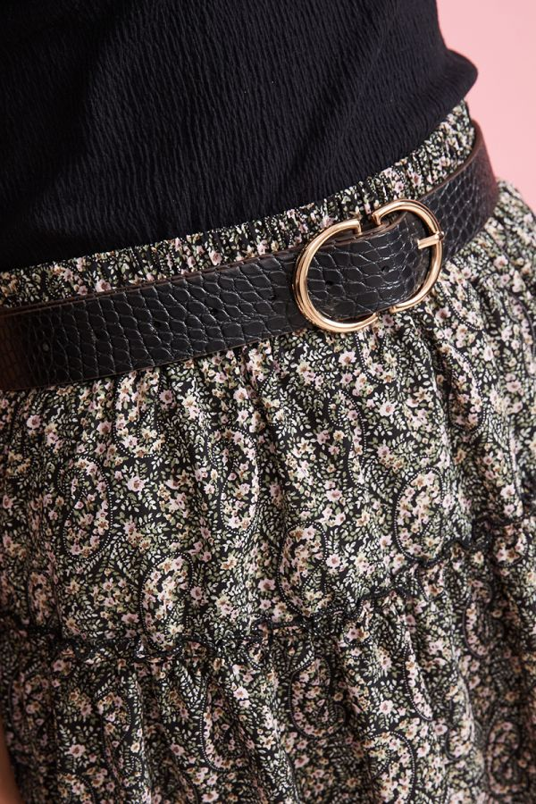 D RING TEXTURED BELT (324168)