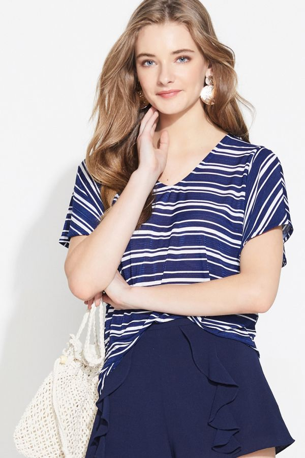 MARIANA SHORT SLEEVE BLOUSE (324198)