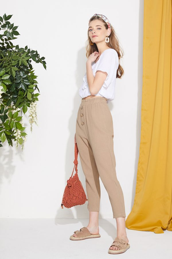 GENESSIS FRONT BOTTON PANTS (324287)