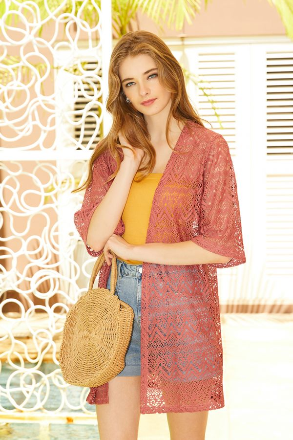 MARLY BRODERIE CARDIGAN (324297)