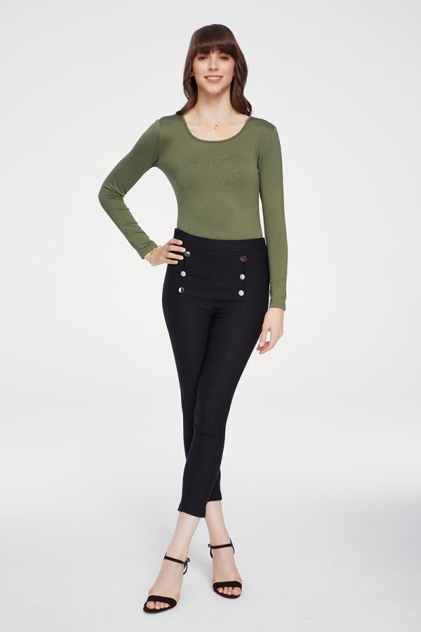 FLEECE INSIDE BASIC TOP (324313)