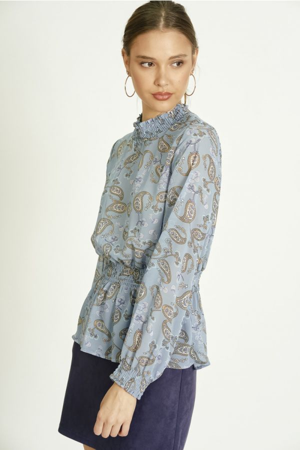 SMOKING LONG SLEEVE TOP (324369)