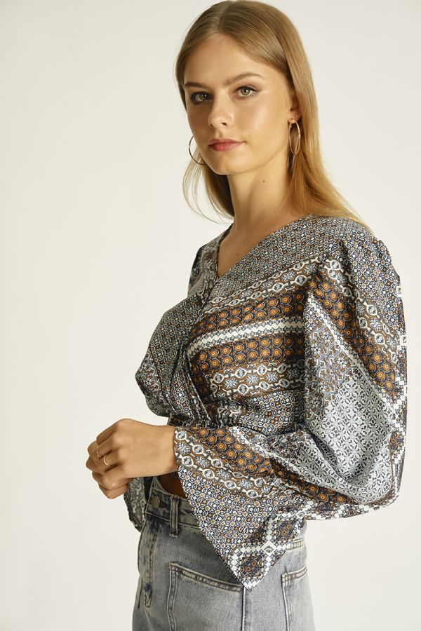 BOHO LONG SLEEVE TOP (324496)