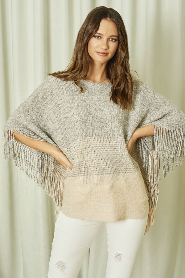 CABLE KNIT TOP  (324728)