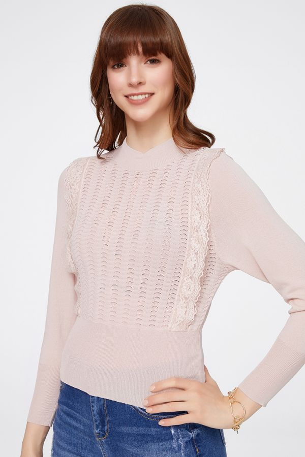 LACE AND CROCHET KNIT (324757)