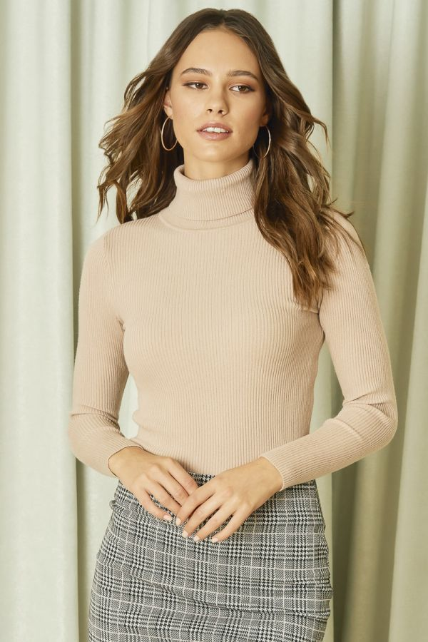 RIBBED BASIC KNOT TOP (324789)