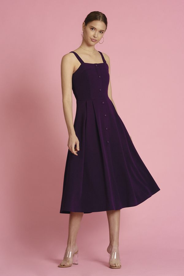 CTP FIT & FLARE DRESS  (325014)