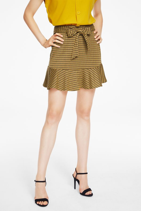 MINI SKIRT WITH BELT (325098)