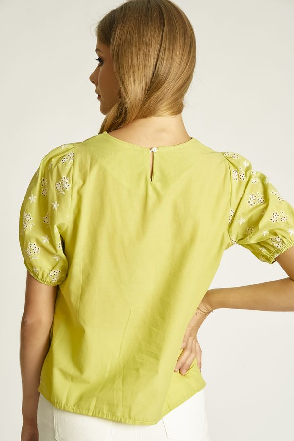 EMBO SHORT SLEEVES TOP (325169)