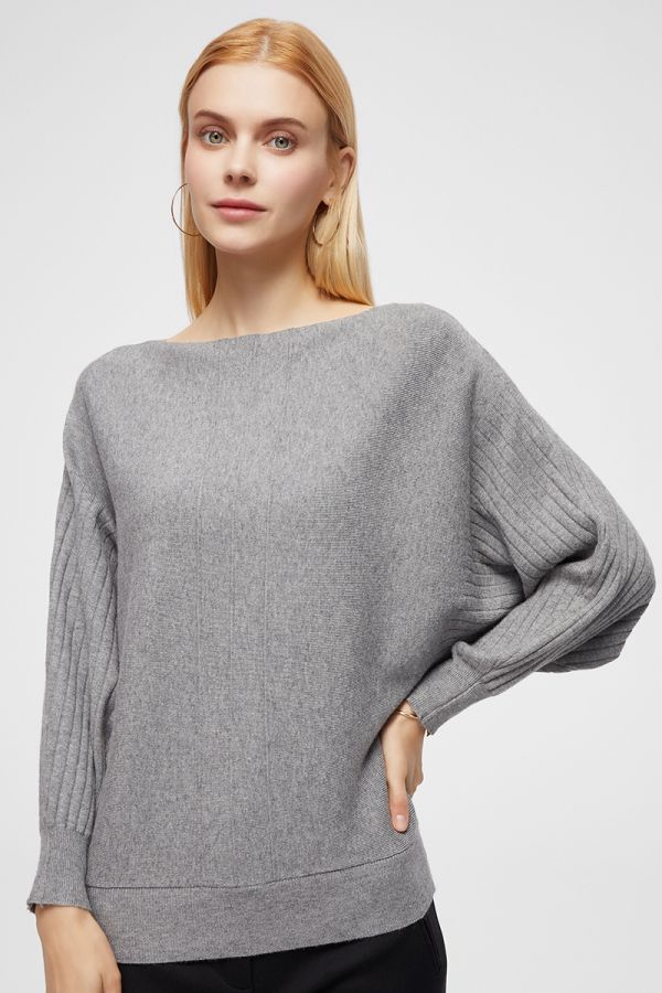 BAT WING KNIT TOP (325248)