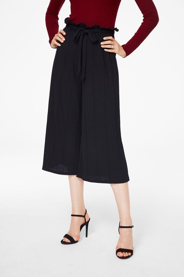 PLEATED EFFECT PANTS (325256)