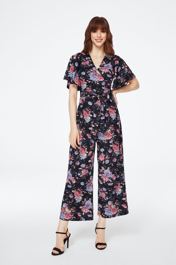 WING SLEEVE JUMPSUIT (325442)