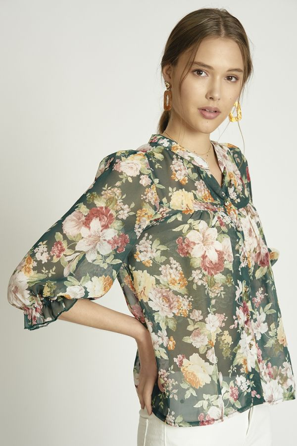 QUARTER SLEEVE SHIRT  (325477)