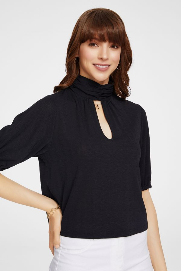 HIGH NECK TOP (325650)