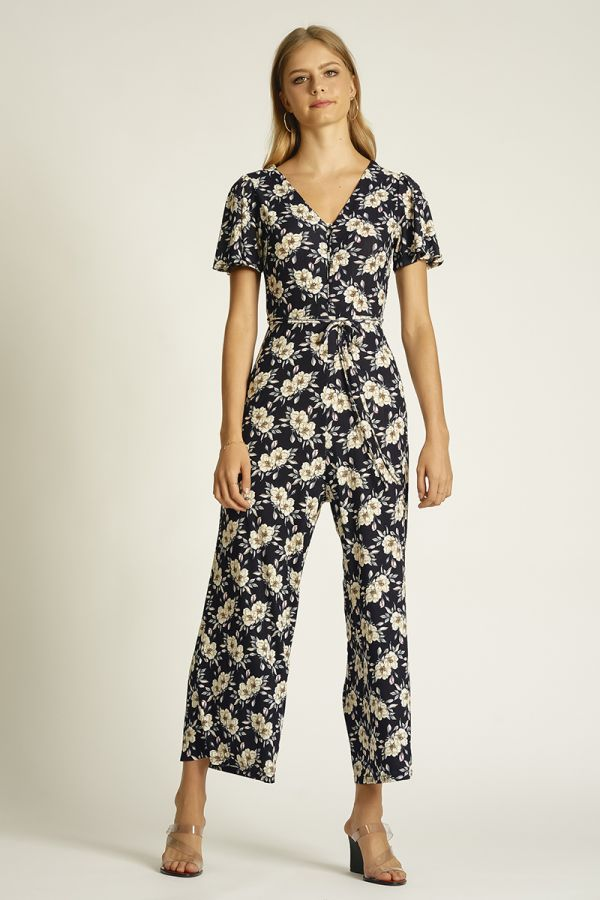 WING SLEEVE JUMPSUIT (325651)