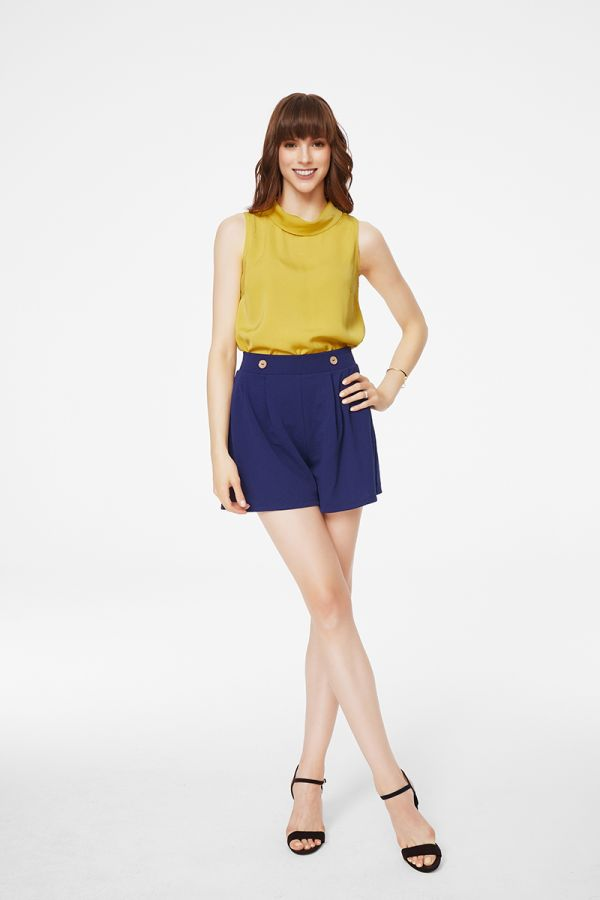 TURTLENECK SLEEVELESS TOP (325742)