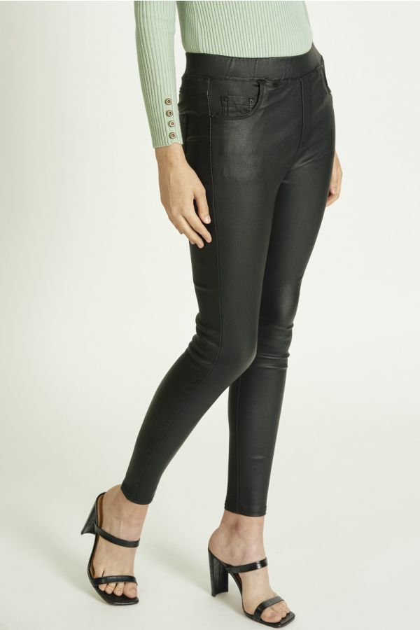 LEATHER PEGGINGS (325768)
