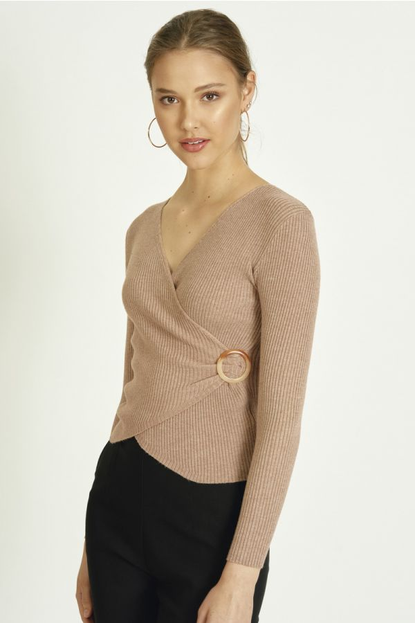 OVERLAY KNIT TOP (325795)