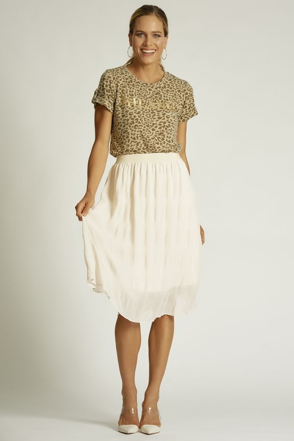 PLEATS SKIRT  (325814)